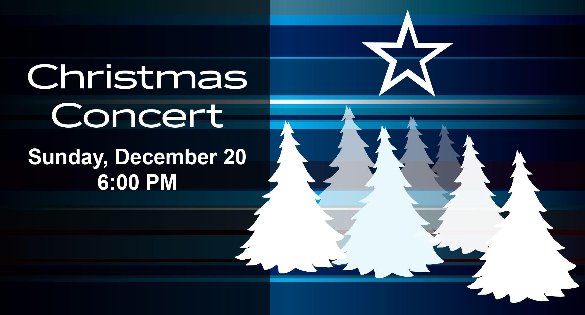 Christmas Concert Redding Connecticut